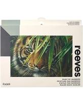 **Schilderen op nummer Tiger Reeves