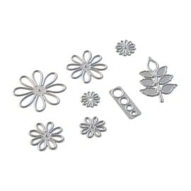 EC1841 Elizabeth Craft Metal Die Florals 5