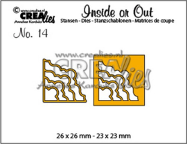 115634/1014 Crealies Inside or Out hoekstansen H CLIO
