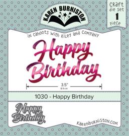 KBR1030 Karen Burniston Dies Happy Birthday