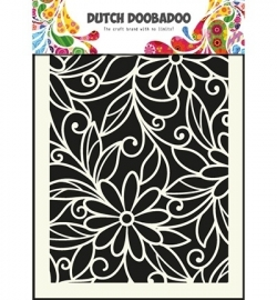 470.715.010 Dutch Doobadoo - Mask Art Stencils Flower Swirl