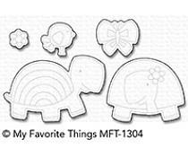 MFT-1304 My Favorite Things Too-Cute Turtles Die-Namics
