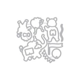 659558 Hero Arts Frame Cut Dies Party Animals
