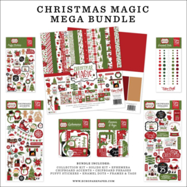 "659890 Echo Park Mega Bundle Collection Kit Christmas Magic 12""X12"""