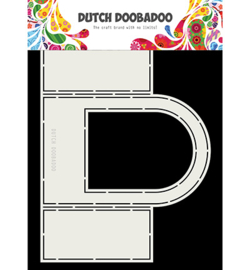 470.713.728 Dutch DooBaDoo Fold card Window Rounded top