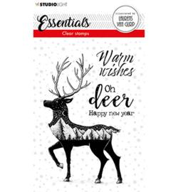 BL-ES-STAMP115 - BL Clear stamp Deer Essentials nr.115