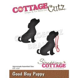 """561324 CottageCutz Dies Good Boy Puppy 2.6""""X2.8"""""""