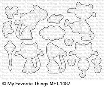 MFT-1487 My Favorite Things Purrfect Friends Die-Namics