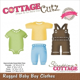 CCE148 CottageCutz Elites Die Rugged Baby Boy Clothes