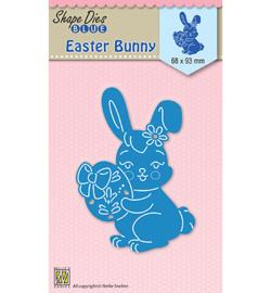 SDB026  Nellie's Choice Shape Dies Easter Bunny