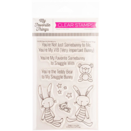 "CS555 My Favorite Things Clear Stamps Favorite Somebunny 4""X6"""