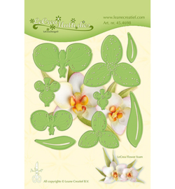 45.4698 LeCrea'Multi Die Cutting/Emb. Multi die flower 012 Orchidee