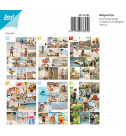 6013/0344 Knipvellen Set Summer greetings