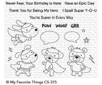 CS-375 My Favorite Things Super Dog Clear Stamps