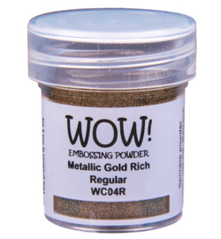 WC04R   Wow! Metallic powder Gold Rich