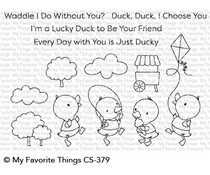 CS-379 My Favorite Things Just Ducky Clear Stamps
