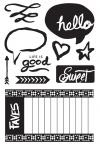 394799 Basic Grey Highline Cling Stamps By Hero Arts Good Times