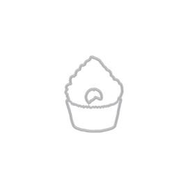 659554 Hero Arts Color Layering Frame Cut Dies Cupcake