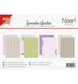 6011/0591 Papier Set A4 Lavender Garden