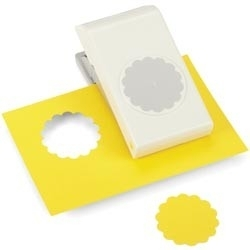E5431009 Nesting Paper Punch Scallop Circle 1.75""