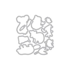 629468 Hero Arts Frame Cut Dies Bandicoot & Friends