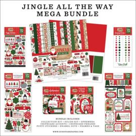 "659816 Echo Park Mega Bundle Collection Kit Jingle All The Way 12""X12"""