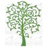 SBS2-008 Spellbinder D-Lite Whimsical Tree
