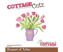 CC-452 Scrapping Cottage Bouquet of Tulips