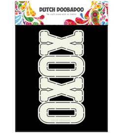 470.713.658 Dutch DooBaDoo Card Art Xoxo