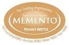 222127 Memento Full Size Dye Inkpad Peanut Brittle