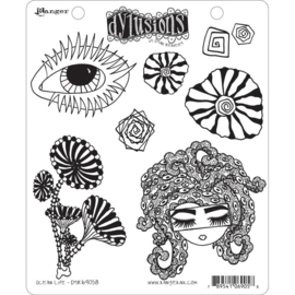 "602350 Dyan Reaveley's Dylusions Cling Stamp Collections Ocean Life 8.5""X7"""