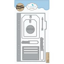 EC1604 Elizabeth Craft Metal Die Planner Essentials 2