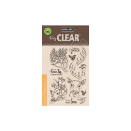 "616267 Hero Arts Clear Stamps Staggering Branches 4""X6"""