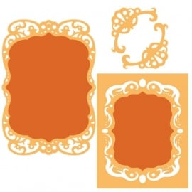 S4463 Spellbinders Nestabilities Die Labels 39 Decorative Accents
