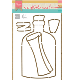PS8092 Marianne Design Message in a bottle by Marleen
