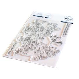 "PF131421 Pinkfresh Studio Clear Stamp Set Blooming Branch 4""X6"""