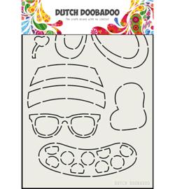 470.713.801 Dutch DooBaDoo Card Art Built up Bear Zomer