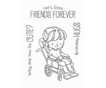 BB-097 My Favorite Things Clear Stamps Friends Forever