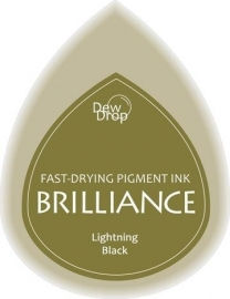 BDIP95 Dew Drops Lightning Black