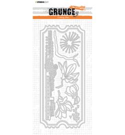 SL-GR-CD26 StudioLight Cutting Die Envelope slimline Grunge Collection nr.26