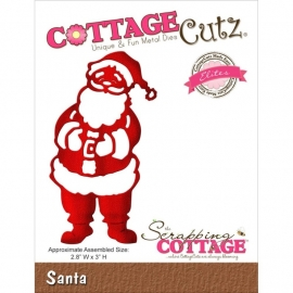 118642 CottageCutz Elites Die Santa