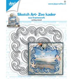 6002/1478 Joy!Crafts Cutting & embossing Sketch Art Zee kader