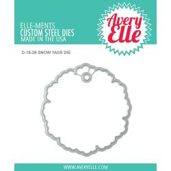 541762 Elle-Ments Dies Snow Tags