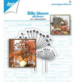 6002/1536 Stans-embos debosmal Dille bloem