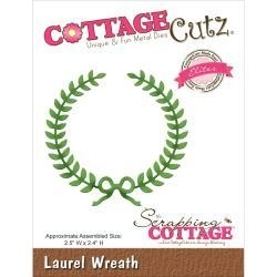 529702 CottageCutz Elites Die Laurel Wreath