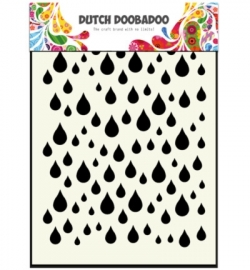 470.741.002 Dutch DooBaDoo Dutch Mask Art Rain drops