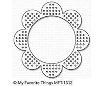 MFT-1312  My Favorite Things Die Cross-Stitch Flower Frame