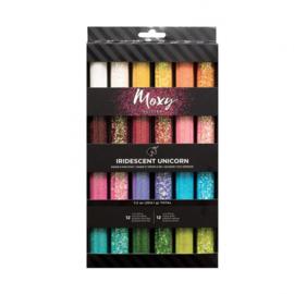 346690 American Crafts moxy glitter x24 iridescent