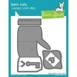 LF1294 Lawn Cuts Custom Craft Die Happy Mail