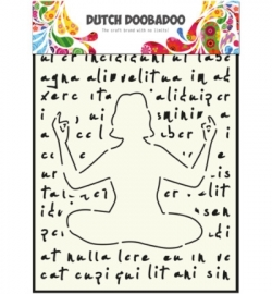 470.715.804 Dutch DooBaDoo Dutch Mask Art Yoga